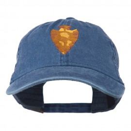 Arrowhead Embroidered Washed Cap