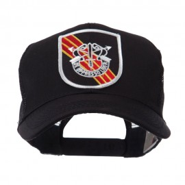 US Army Shield Military Patched Mesh Cap - Special Force