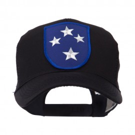 US Army Shield Military Patched Mesh Cap - 23rd