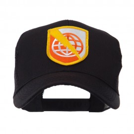 US Army Shield Military Patched Mesh Cap - Strat