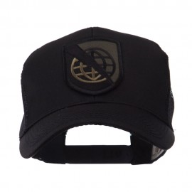 US Army Shield Military Patched Mesh Cap - Strat 2