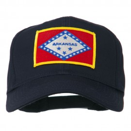 Middle State Arkansas Embroidered Patch Cap