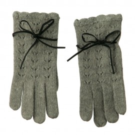 Ladies Angora Lace Glove
