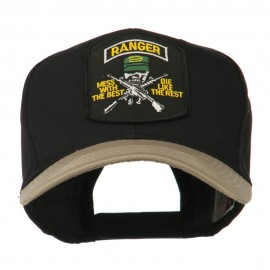 US Army Ranger Military Patched Two Tone High Cap