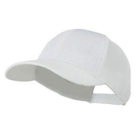 Air Mesh Polyester Cap - White
