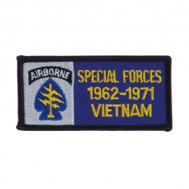 Air Borne Rectangle Embroidered Military Patch