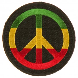 Assorted Rasta Patch-Peace RGY