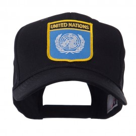 Asia Australia and Other Flag Shield Patch Cap - United Nation