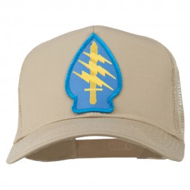 Army Special Force Patched Mesh Cap