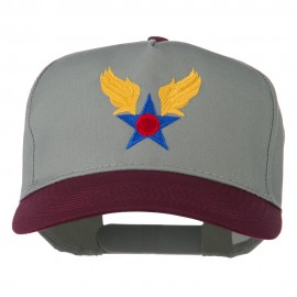 Army Air Badge Embroidered Two Tone Cap