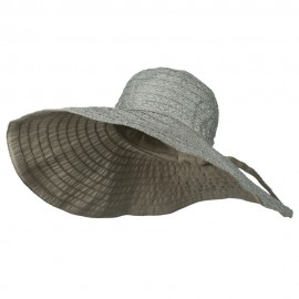 Women's Hat with Ribbon And Wired Brim