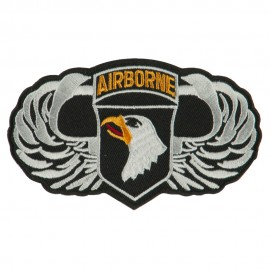 Air Borne Wing Shape Embroidered Military Patch