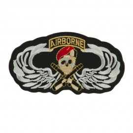 Air Borne Wing Shape Embroidered Military Patch - Air Borne