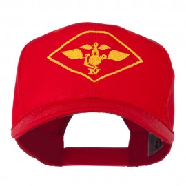 Air Wing IV Military Badge Embroidered Cap