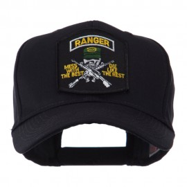 US Army Embroidered Military Patch Cap - Ranger