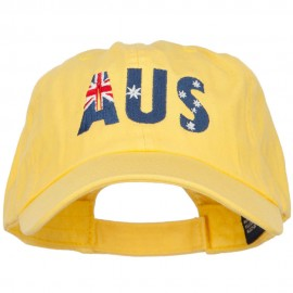 Australia Embroidered Low Profile Cap