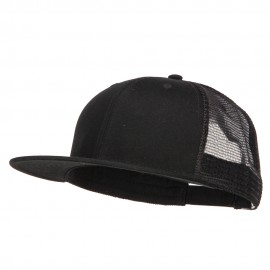 Big Size Premium Flat Bill Trucker Cap