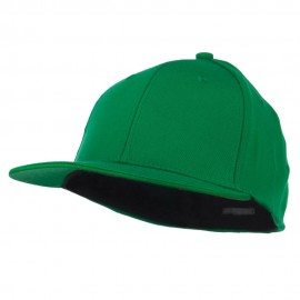 Flat Bill Fitted Flex Cap - Kelly