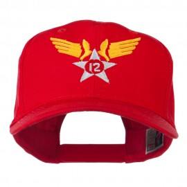12th Air Force Military Badge Embroidered Cap