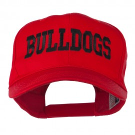 Sports Team Bulldogs Embroidered Cap