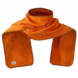 Unisex Blanket Stitch Fleece Scarf