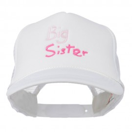 Big Sister Embroidered Youth Foam Mesh Cap