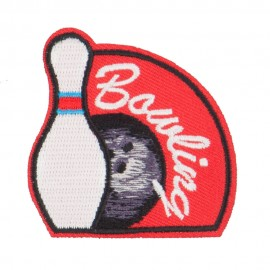 Bowling Fun Patches
