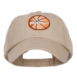 Basketball Patched Low Pet Spun Cap