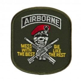 Air Bourne Military Large Patch - Airbourne