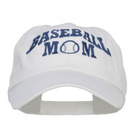 Baseball Mom Embroidered Low Profile Cap