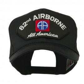 Air Bourne Military Large Patched Cap