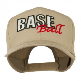 Baseball Outline Embroidered Cap