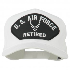 US Air Force Retired Symbol Patched Cap