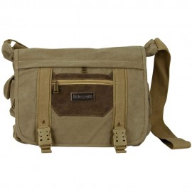 Canvas Bag with Buckle Strap