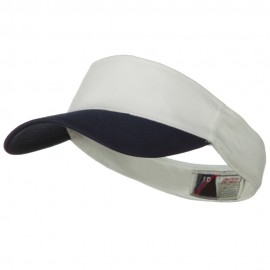 Brushed Cotton Twill Flex Sun Visor