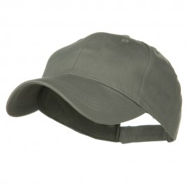 Youth Brushed Cotton Twill Low Profile Cap - Grey