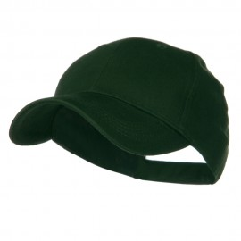 Youth Brushed Cotton Twill Low Profile Cap - Dark Green