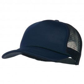 Big Foam Mesh Truck Cap - Navy