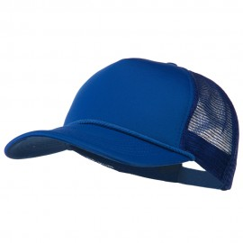 Big Foam Mesh Truck Cap - Royal