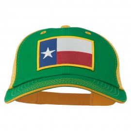 Big Mesh State Texas Patch Cap - Kelly Gold