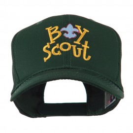 Boy Scout Logo Embroidered Cap - Green