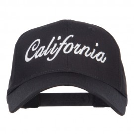 California State Embroidered Cotton Twill Cap