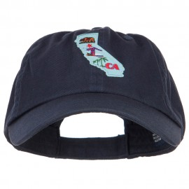 USA State California Patched Low Profile Cap
