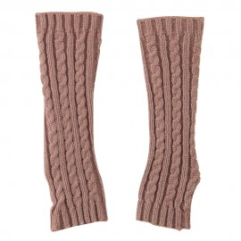 Women's Cable Knitted Arm Warmer