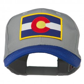 Colorado State Embroidered Patched Cap