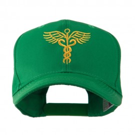 Original Medical Caduceus Outline Embroidered Cap