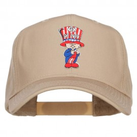 4th of July Child Patched Cap