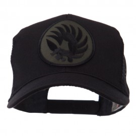 Combined Forces Military Patched Mesh Cap - French Metro