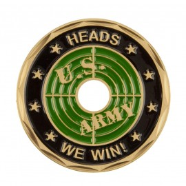 U.S. Army Saying Coin (2) - Black Bullet
