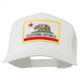 California State Flag Patched Twill Mesh Cap